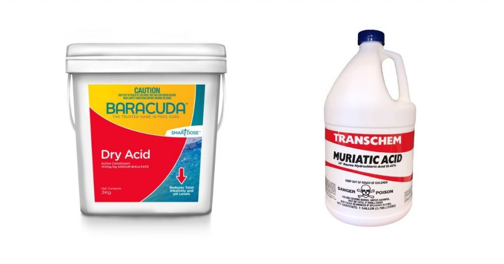 Dry Acid vs. Muriatic Acid